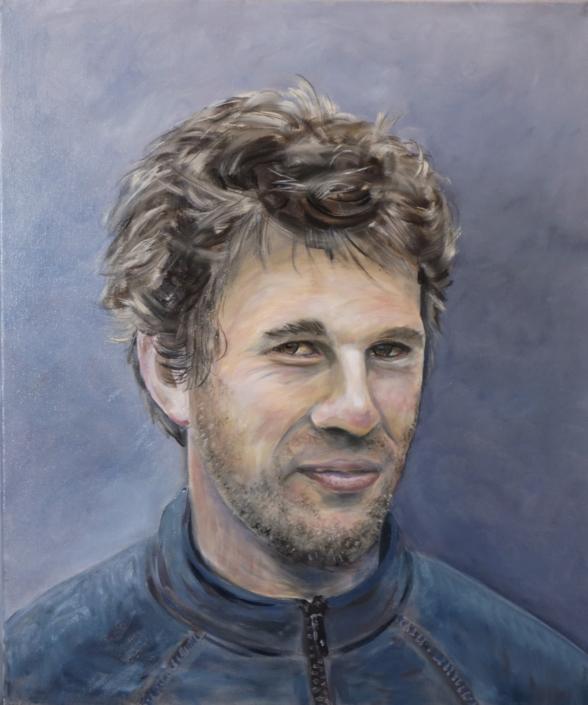 Portret - Julien M - Olieverf - Pieter Broertjes