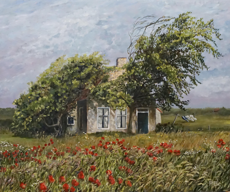 Terschelling - Zuidwest Diagonaal - Painted by: Pieter Broertjes