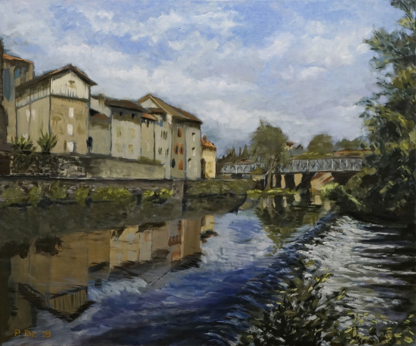 Eymoutier, Limousin, France - Painted by Pieter Broertjes
