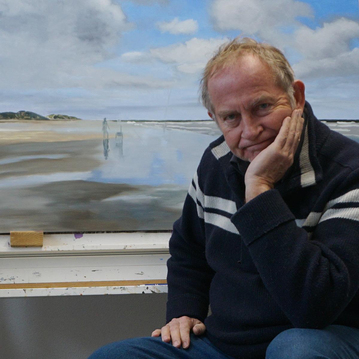 Pieter Broertjes - Wachten tot het schilderij droog is